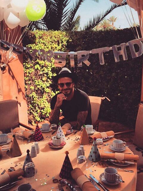 """<p>David Beckham (@davidbeckham)</p>  <p>'<a href=""""https://instagram.com/explore/tags/db40/"""">#DB40</a>'</p>"""