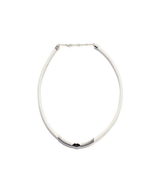 "<p>Delfina Delettrez necklace, £185, at <a href=""http://www.matchesfashion.com/product/136478"">Matches</a></p>"