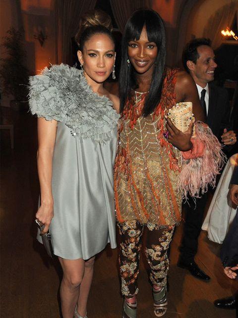 <p>Jennifer Lopez & Naomi Campbell</p>