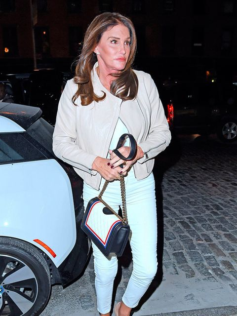 Caitlyn Jenner out and about in New York, November 2015.