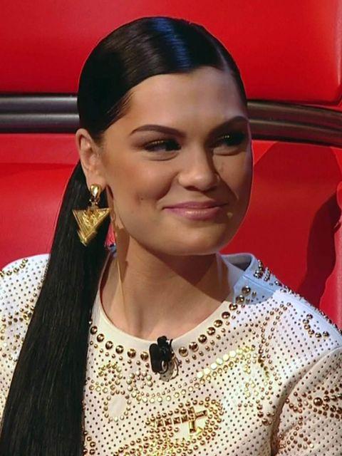 <p>Jessie J's look on The Voice, Saturday</p>