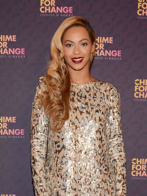 "<p><a href=""http://www.elleuk.com/fashion/celebrity-style/beyonce-s-style-file"">Beyoncé</a></p>  <p>'We have a lot of work to do, but we can get there if we work together. Women are more than 50 percent of the population and more than 50 percent of voters"