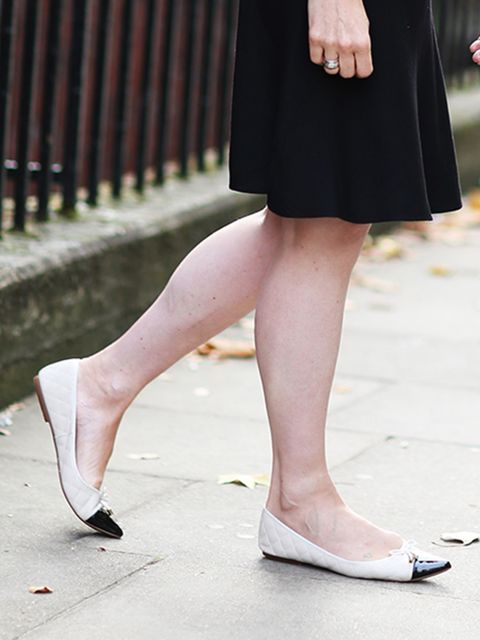 <p>Lorraine Candy – Editor-in-Chief</p>  <p>Polo Ralph Lauren dress, Office shoes.</p>