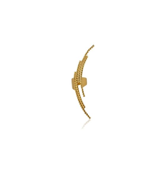 """<p>Maria Black's crescent ear cuff is subtle enough for the office and cool enough for out, £90, at <a href=""""http://www.avenue32.com/jewellery/all-jewellery/all-jewellery/gold-plated-crescent-earcuff-74802.html"""">Avenue32.com</a></p>"""