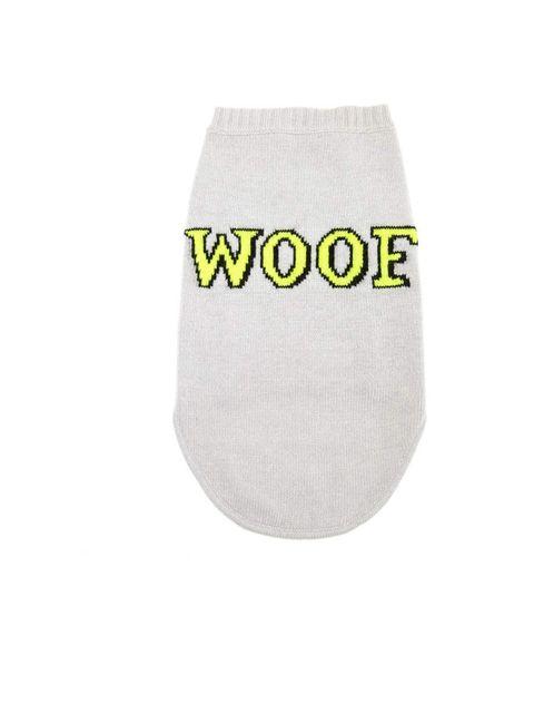 <p>Markus Lupfer for Whistles knit dog jumper £55</p>