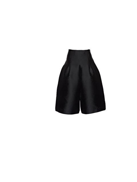 "<p><a href=""http://www.paperlondon.com/trousers/adamello-culottes-oil-black"">Paper London</a> 'Adamello' culottes, £265</p>"