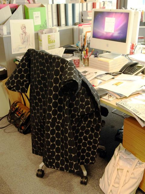 <p>Jenny Dickinson's Marni for H&amp;M coat</p>
