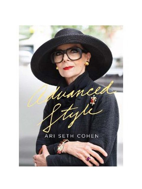 <p>The cover of the Advanced Style book</p>
