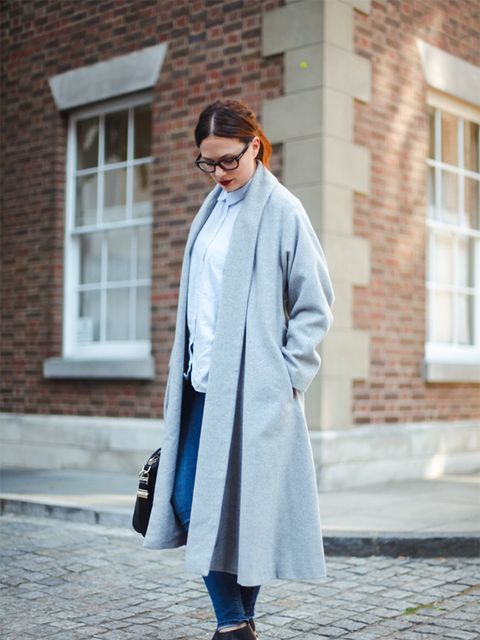 """<p>Sophie Beresiner - Beauty Director</p><p><a href=""""http://www.asos.com/asos-petite/asos-petite-exclusive-slim-coat-in-soft-texture/prod/pgeproduct.aspx?iid=4448274&clr=Grey&SearchQuery=grey+coat&pgesize=36&pge=1&totalstyles=353&gridsize=3&gridrow=8&gr"""