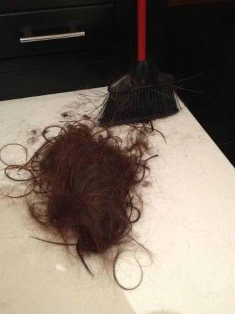 <p>'Chopped it off!' Victoria tweets.</p>