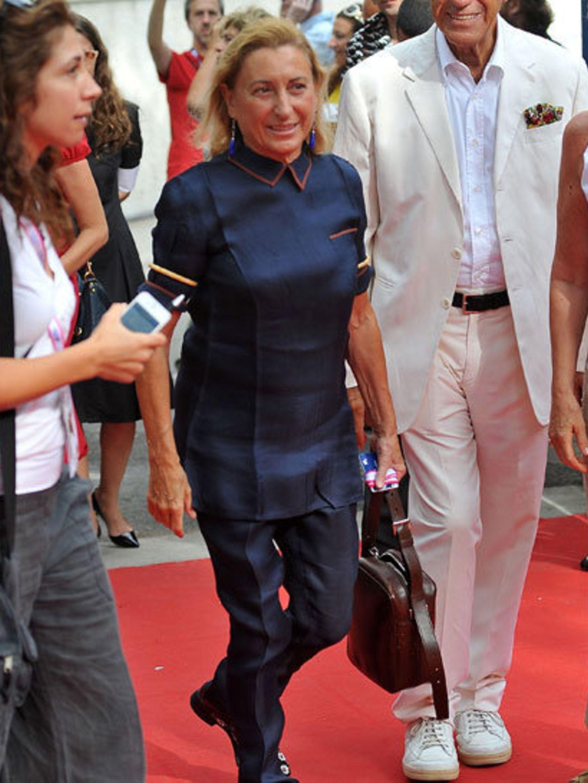 <p>Miuccia Prada</p>
