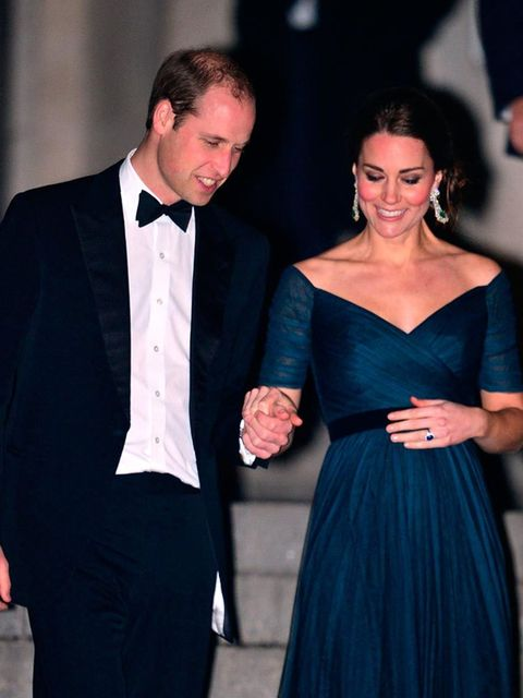 <p>1. When Kate did the pregnant lady bump pat.</p>