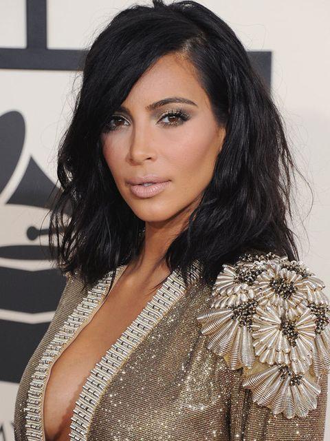 """<p><a href=""""http://www.elleuk.com/beauty/kim-kardashian"""">Kim Kardashian</a></p>"""