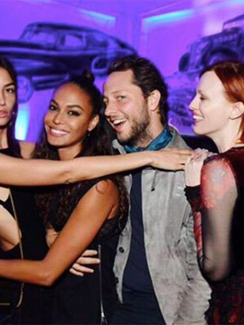Joan Smalls (@joansmalls)  After the Party is the After After Party #GRTnyc17 @lilyaldridge @derekblasberg @misskarenelson