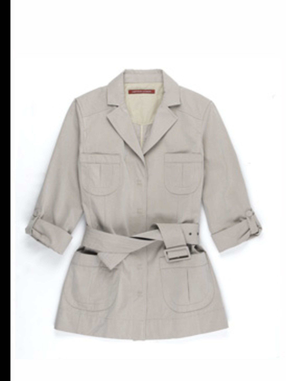 <p>Jacket, £158 by Comptoire des Cottoniers, for stockists 0207 792 9588</p>