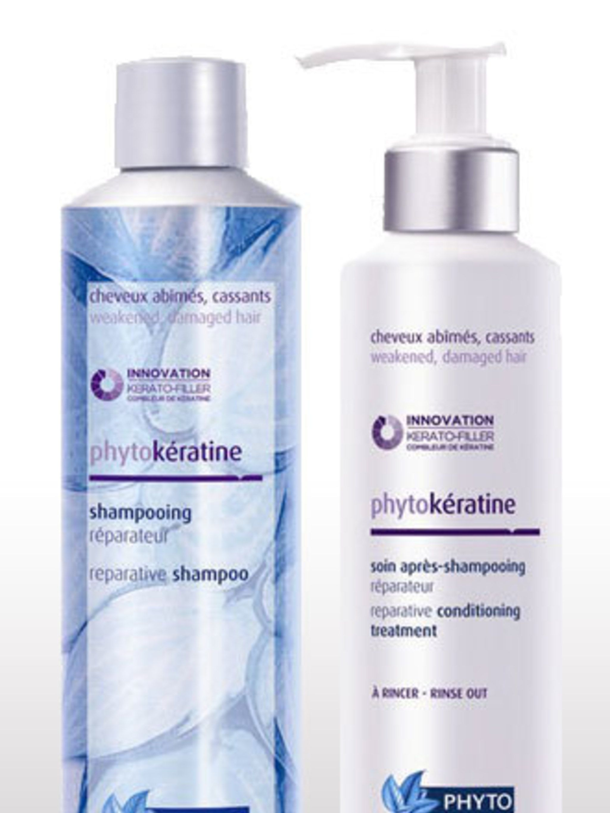 <p><strong>Best for:</strong> Styling Addicts </p><p>Phyto PhtyoKératine Reparative Shampoo, £10.50 and Conditioner, £13.50 contain a botanical keratin that is similar to the protein that makes up our own hair - in effect it plugs the gaps in the hair fib