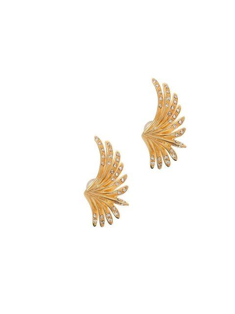 "<p>Ca & Lou Art Deco crystal palm earrings, £304, <a href=""http://www.boutique1.com/art-deco-crystal-palm-earrings-216862"">www.boutique1.com</a></p>"