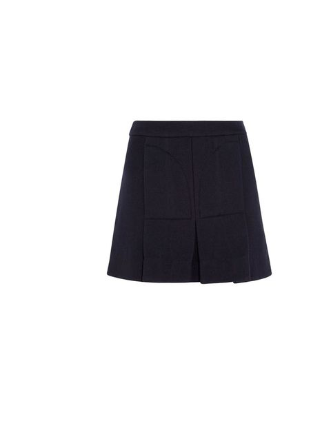 "<p>A navy pleated skirt is a piece to add to your transeasonal heroes list, Marni wool skirt, £330, at <a href=""http://www.net-a-porter.com/product/375881"">Net-a-Porter</a></p>"