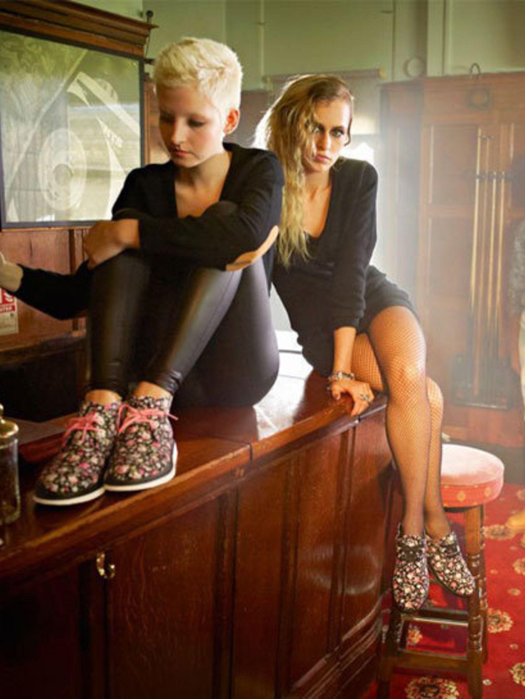 <p>Billie Turnbull and Alice</p>