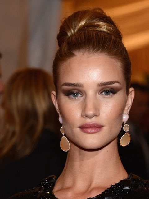 <p>Rosie Huntington-Whiteley at the 2012 Met Ball</p>