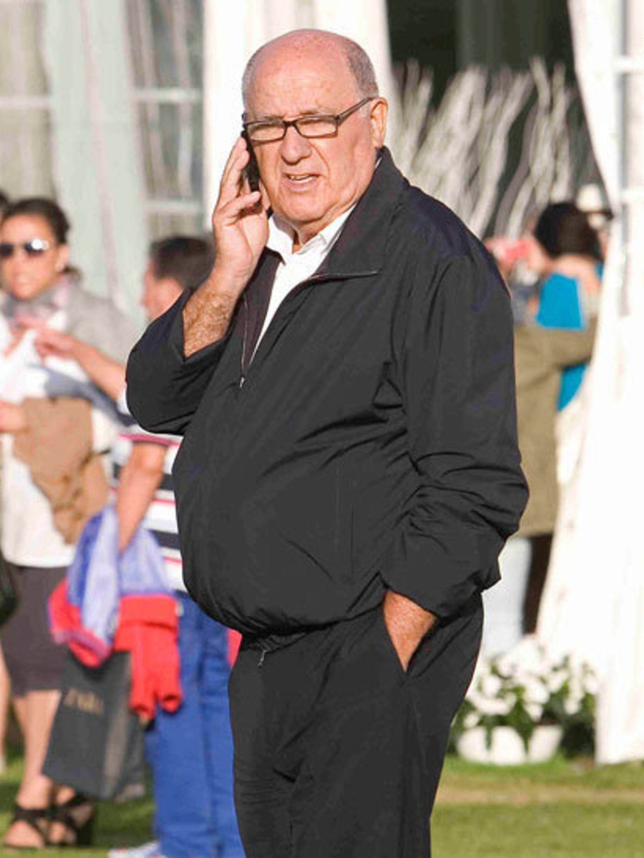 <p>Inditex owner Amancio Ortega</p>