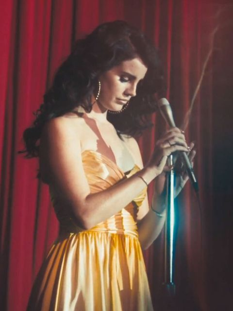 <p>Lana Del Rey in the video for Ride</p>