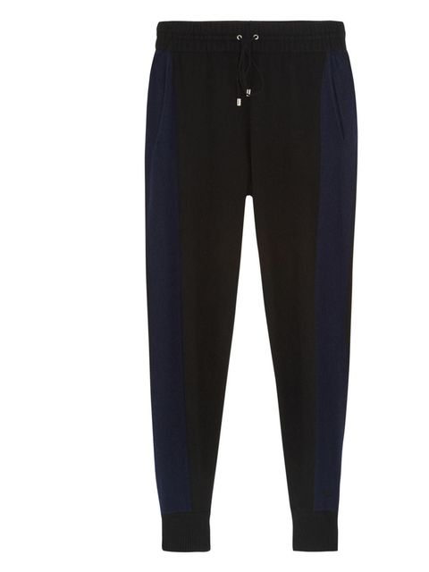 """<p>Panel Beach cashmere track pants, £275, by Banjo &amp&#x3B; Matilda, available at <a href=""""http://www.net-a-porter.com/product/385298"""">net-a-porter.com</a></p>"""