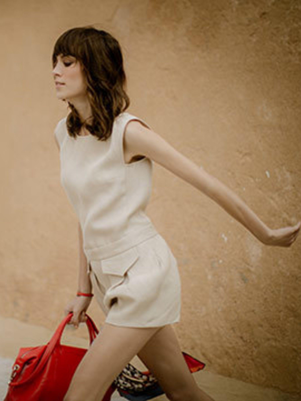 <p>Alexa Chung for Longchamp</p>