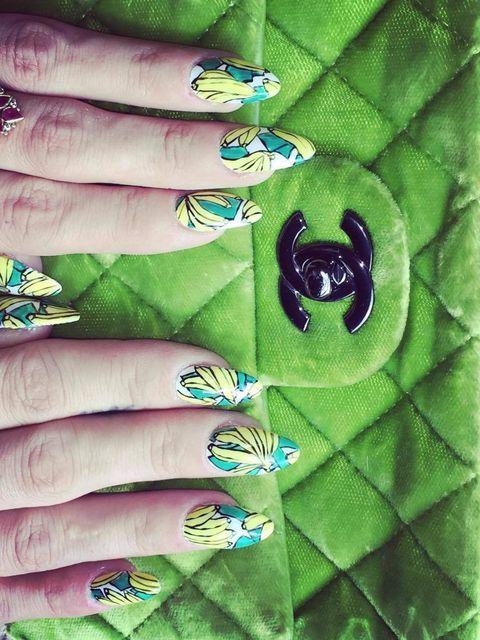 the best celebrity nail art inspiration