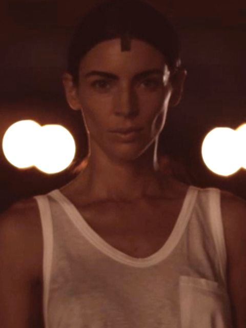 <p>Liberty Ross in the Alexander Wang video.</p>