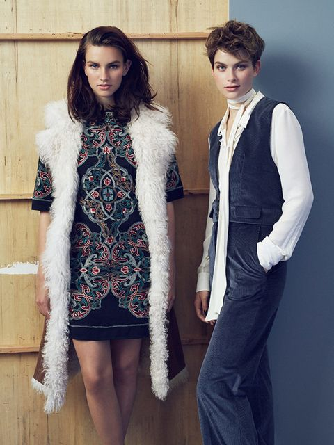 """<p>ELLE UK September Issue &#39;Style for Less&#39;</p>  <p>Left: Warehouse</p>  <p>Right: Marks and Spencer</p>  <p><span style=""""line-height:1.6"""">Photographer: Hodur Ingason</span></p>"""