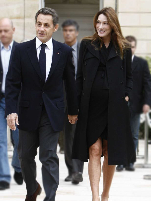 It S A Girl For Carla Bruni Sarkozy