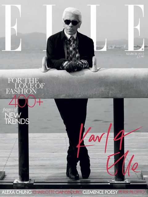 The man himself on our cover in March 2012