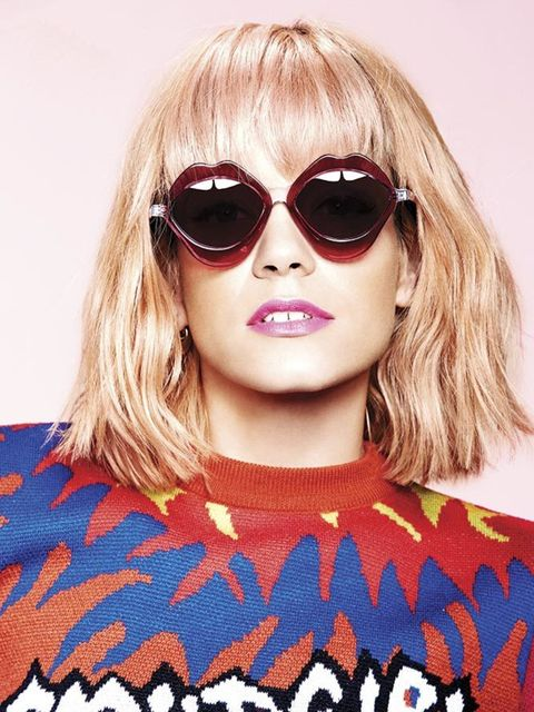 b925a44d7f58 House of Holland Summer 2015 eyewear campaign featuring Lily Allen.