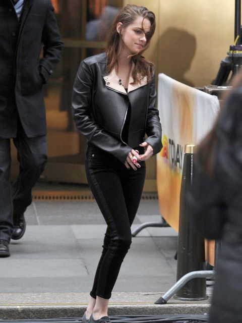 <p>Kristen Stewart wears Belstaff on The Today Show</p>