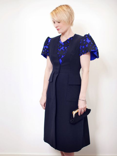 """<p><strong>Lorraine Candy - Editor in Chief</strong></p><p>Roksanda Ilincic dress.</p><p>Hair by George Northwood; make-up by Linda Andersson.</p><p><a href=""""http://www.elleuk.com/star-style/red-carpet/british-fashion-awards-designers-celebrities-kate-mos"""