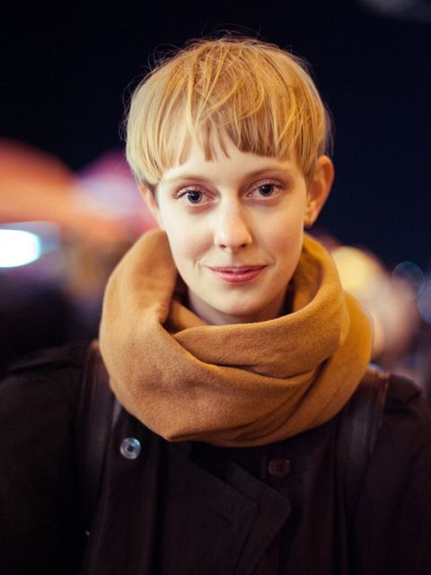 """<p>Matilde wears Acne scarf, & Other stories sweater.</p><p><em>More street style inspiration...</em></p><p><a href=""""http://www.elleuk.com/style/street-style/field-day-festival-2013-street-style"""">Field Day street style</a></p><p><a href=""""http://www.elleuk"""