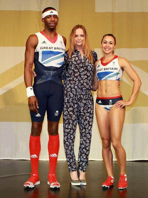 <p>Adidas: Team GB and Stella McCartney</p>
