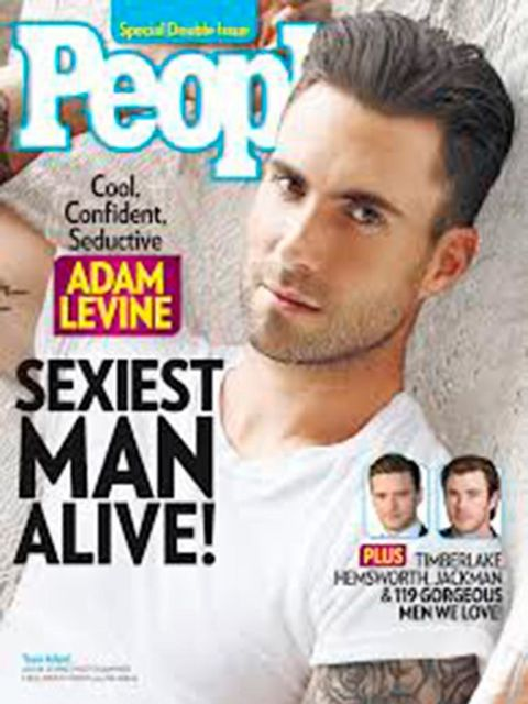 <p>Maroon Five's Adam Levine is looking fine. Fine enough to win 2013's title.</p>