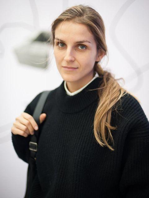 <p>Gaia Repossi at the Frieze Art Fair 2012</p>