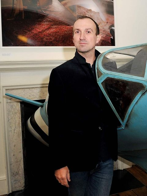 <p>Photographer Tim Walker attend the opening party to his Story Teller exhibition.</p>