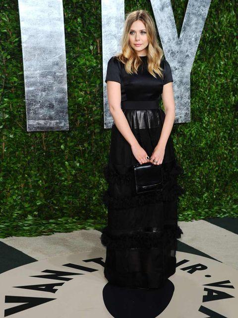 "<p><a href=""http://www.elleuk.com/star-style/celebrity-style-files/elizabeth-olsen"">Elizabeth Olsen</a> wearing a <a href=""http://www.elleuk.com/catwalk/designer-a-z/dior/spring-summer-2012"">Christian Dior</a> dress, <a href=""http://www.elleuk.com/catwalk"