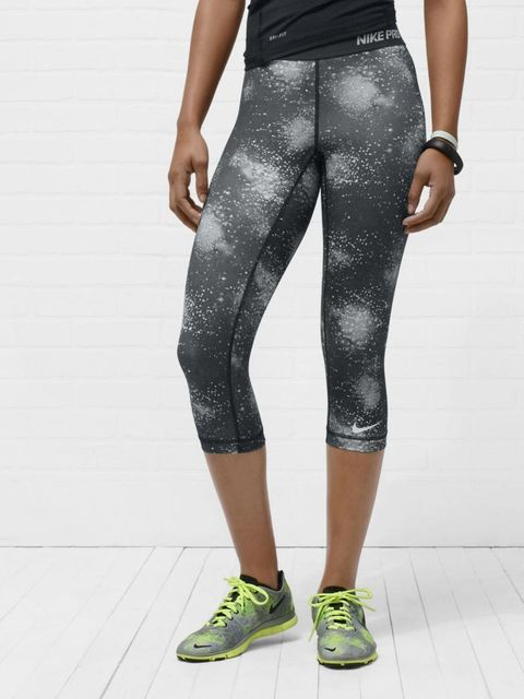 <p>Nike Pro Printed Women's Capris, £28</p>