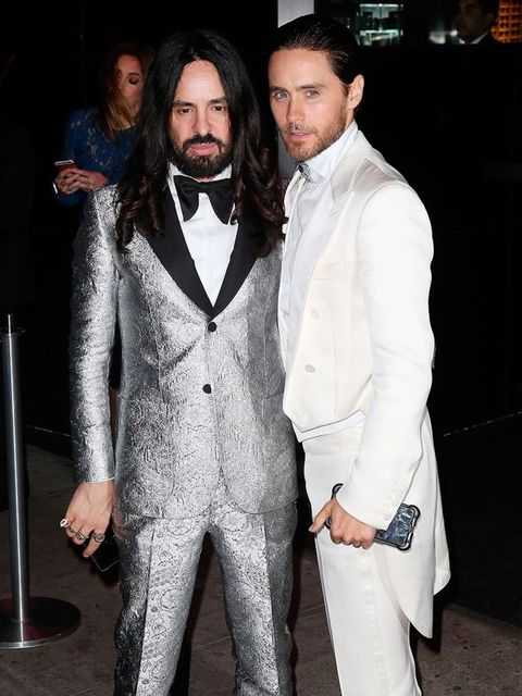 <p>Alessandro Michele and Jared Leto attend a Met Gala 2016 after party at the Boom Boom Room at The Standard in New York, May 2016.</p>