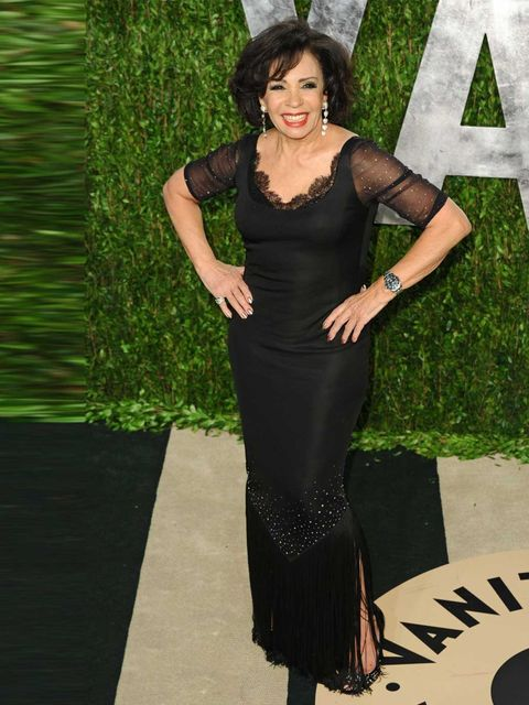 <p>'Diamonds never leave you. Men do!' Dame Shirley of Bassey, pictured here at the Vanity Fair Oscars party 2013 - aged 76, would you believe - has her priorities right.</p>