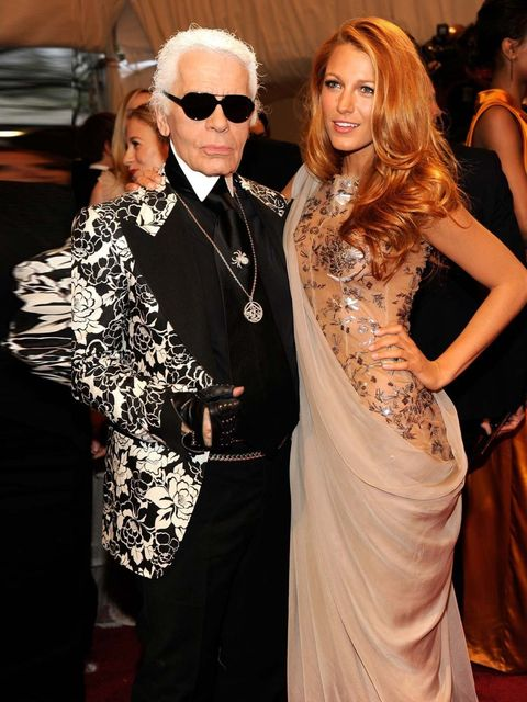 "<p>Karl Lagerfeld and <a href=""http://www.elleuk.com/star-style/celebrity-style-files/blake-lively"">Blake Lively</a>, 2011</p><p>Some said wholesome Blake was an offbeat choice for the eternally chic house of <a href=""http://www.elleuk.com/catwalk/designe"