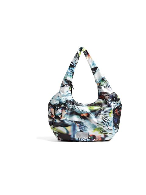 """<p>Listen up, gymwear just got cool. Directional designer Hussein Chalayan has added his cool designs to Puma's new collection and quite frankly the treadmill has never seemed so appealing... Puma by Hussein Chalayan camo print bag, £85, at <a href=""""http:"""
