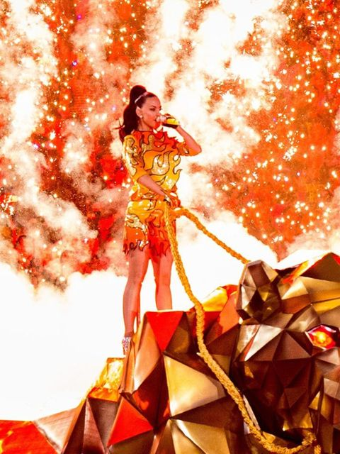 'I wanted something strong, powerful, and iconic for Katy's entrance,' said Scott.