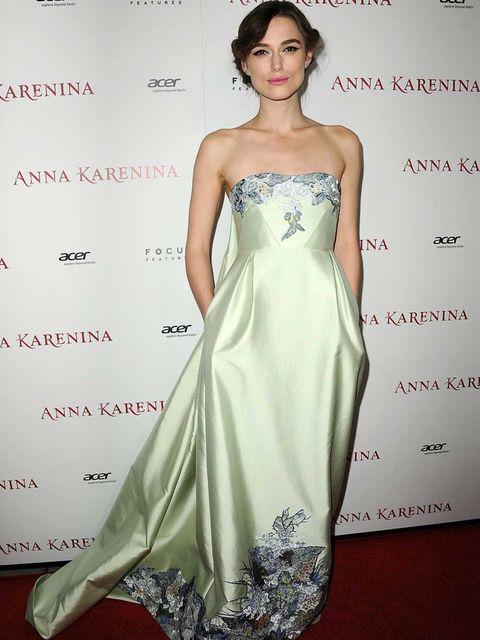 <p>Keira Knightley wears Erdem to the LA Premiere of Anna Karenina</p>