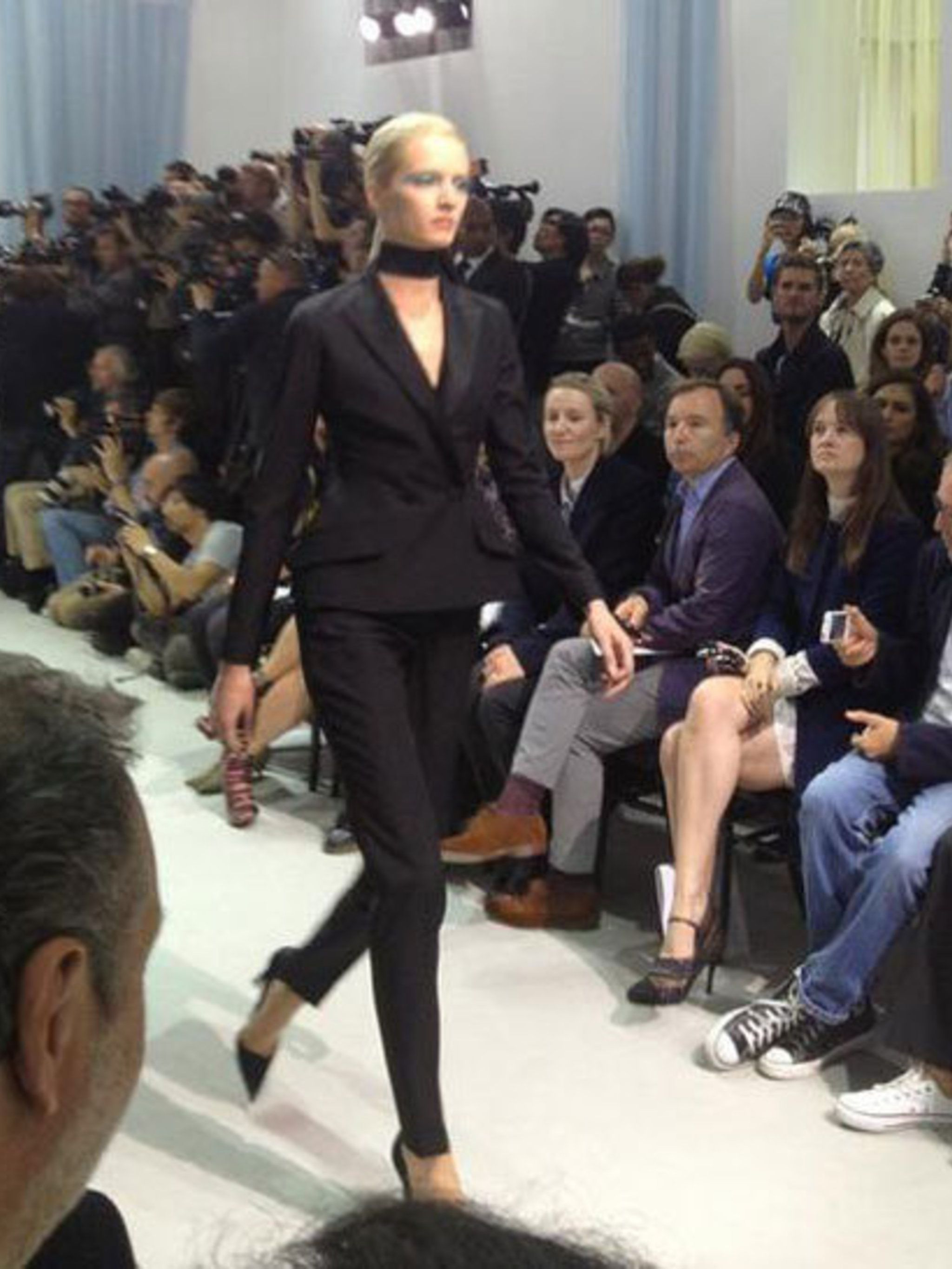 <p>First look from Christian Dior Spring Summer 2013</p>